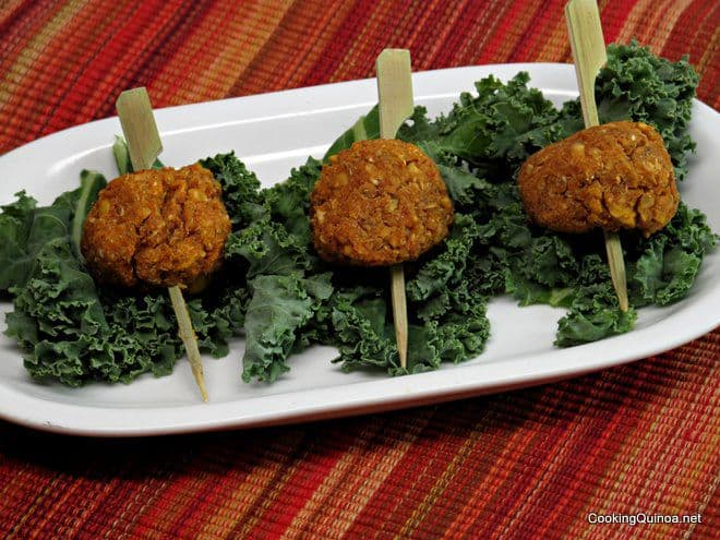 Quinoa Meat-Less Balls