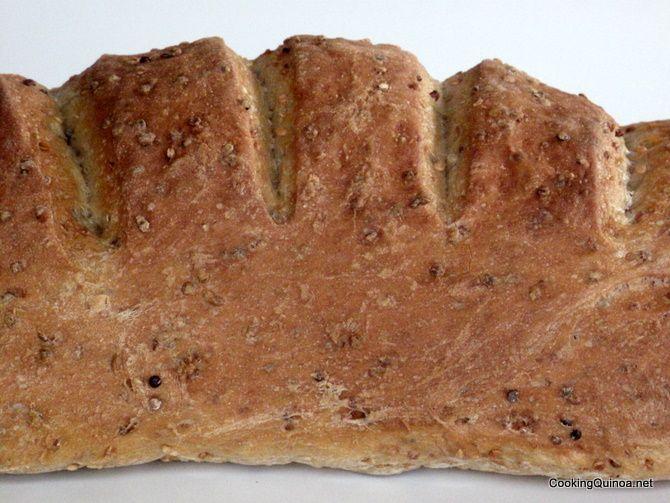 Quinoa Bread - Wendy Polisi