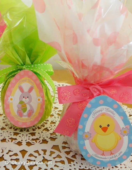 Quinoa Easter Pops & Free Printables!