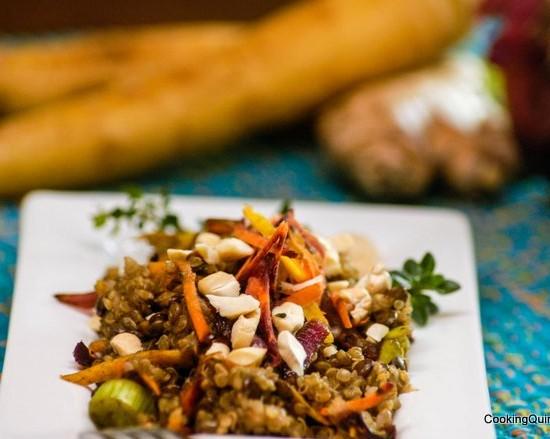 quinoa-lentil-pilaf