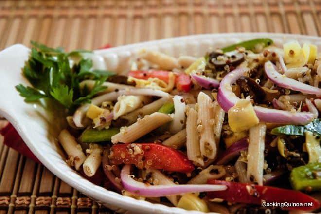 quinoa-pasta-salad