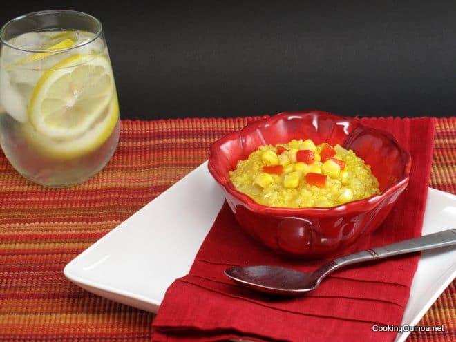 Quinoa Polenta