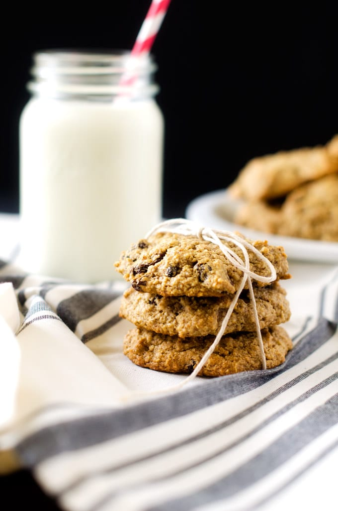 Quinoa Raisin Cookies