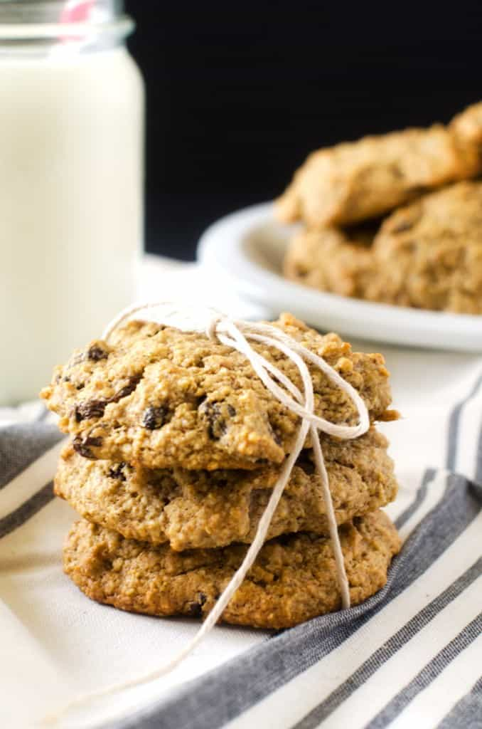 Quinoa Raisin Cookies - WendyPolisi.com