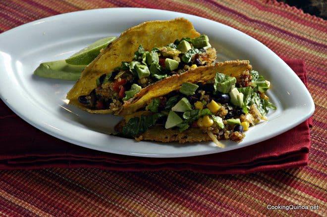 Crispy Quinoa Tacos