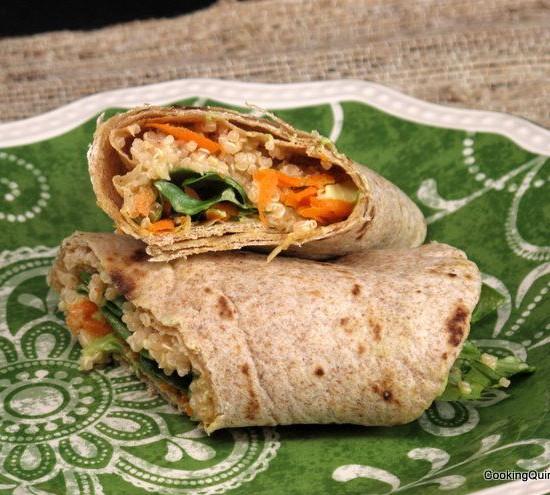 quinoa-wraps