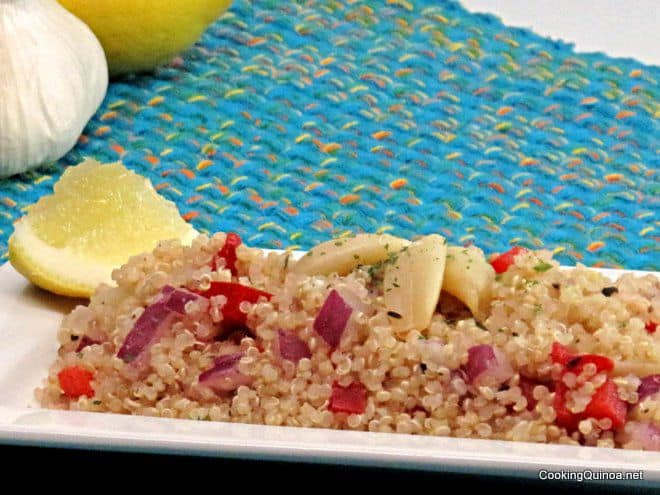 Roasted Garlic Quinoa