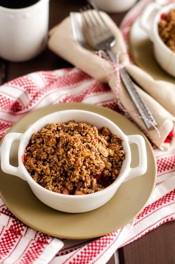 Strawberry Quinoa Crisps