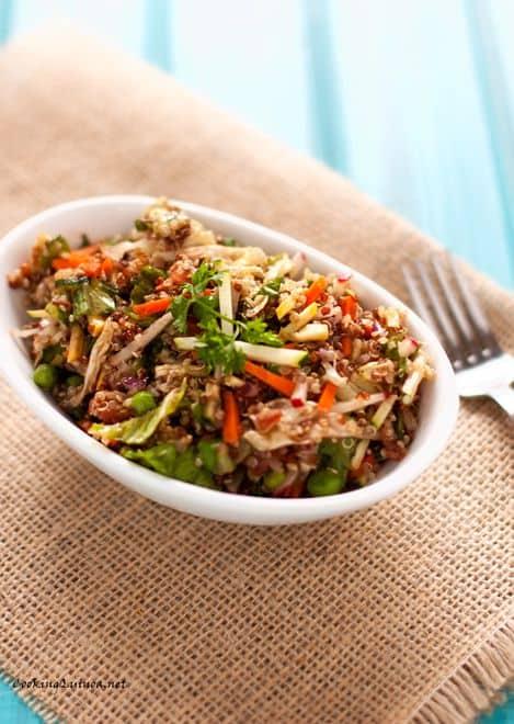 Veggie Quinoa Salad - WendyPolisi.com