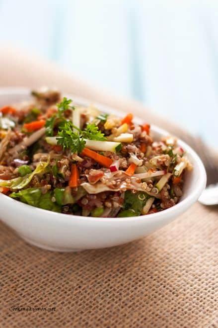 Veggie Quinoa Salad - Wendy Polisi