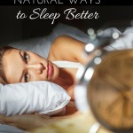 23 Simple Natural Ways to Sleep Better