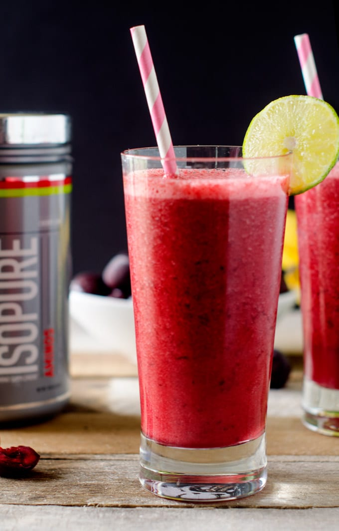 Cherry Lime Smoothie - WendyPolisi.com