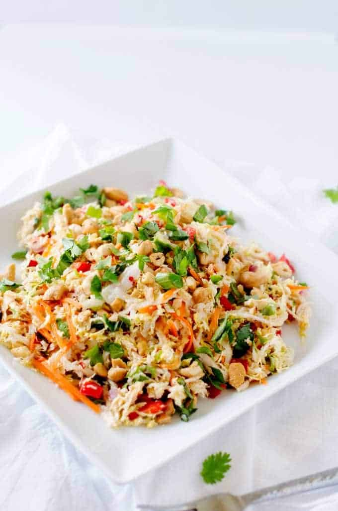 Colorful image of Thai Chicken Salad