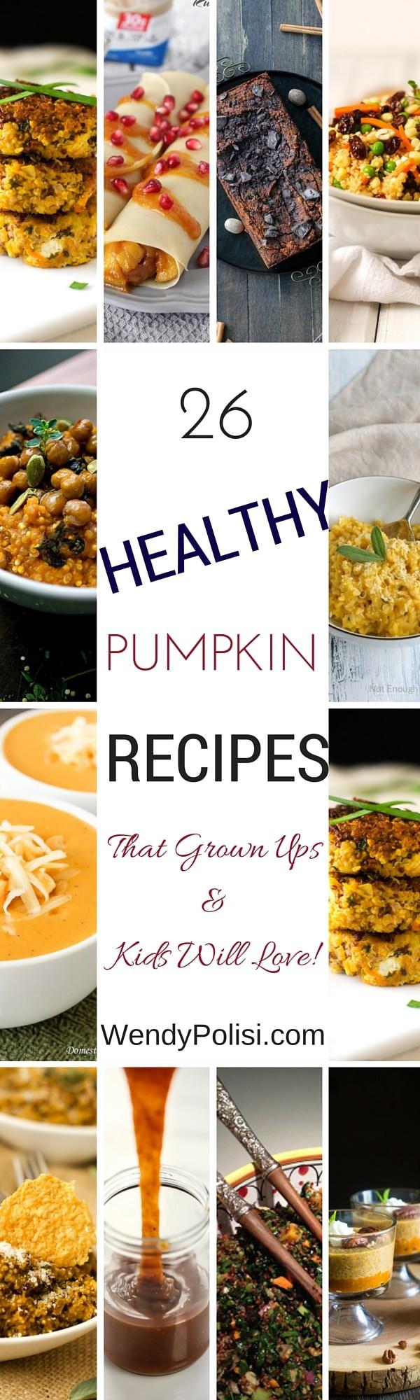 26 Healthy Pumpkin Recipes
