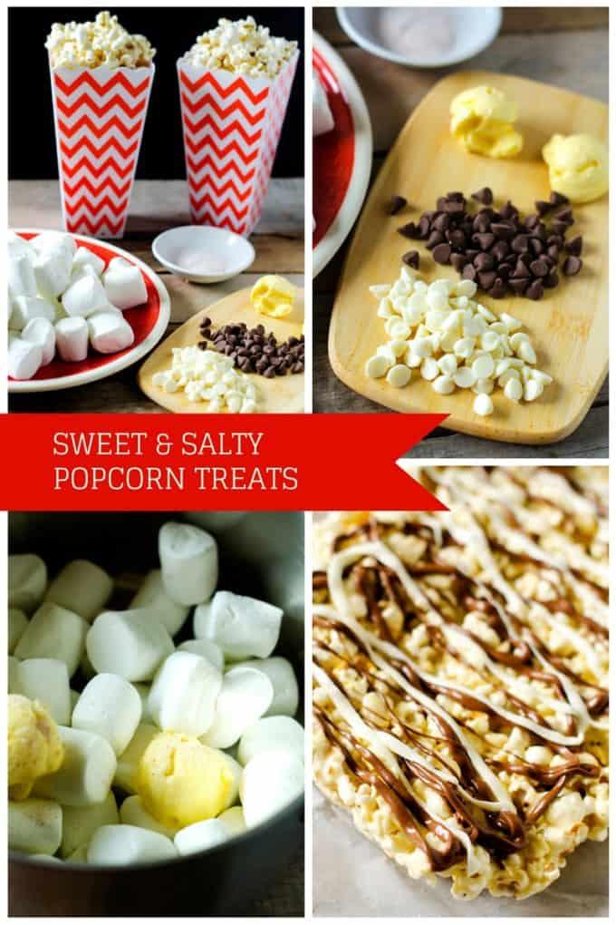 SWEET & SALTY POPCORN TREATS