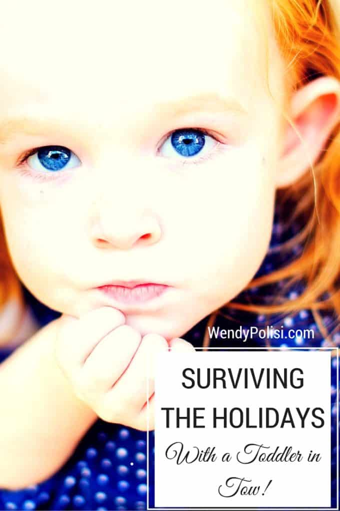 Surviving the Holidays with a Toddler in Tow