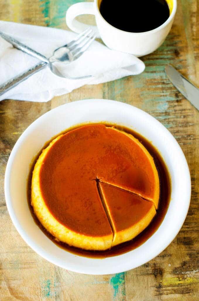 pumpkin-flan