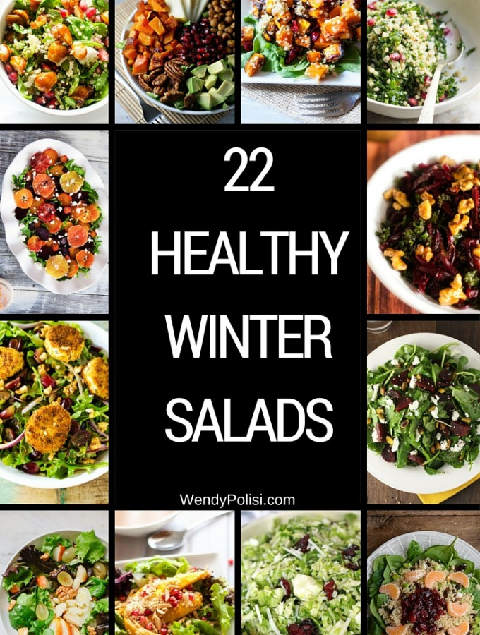 22 Healthy Winter Salads to Supercharge Your Diet