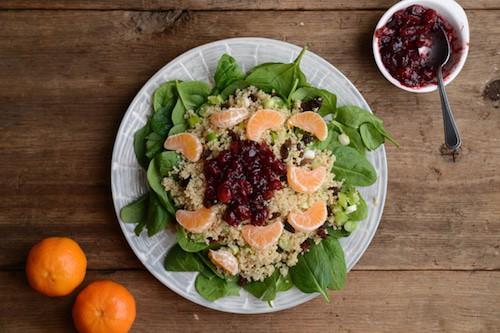 Cramberry-Clementine-Quinoa-Salad