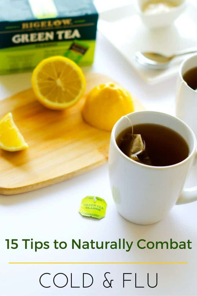 15 Tips to Naturally Combat the Cold Flu