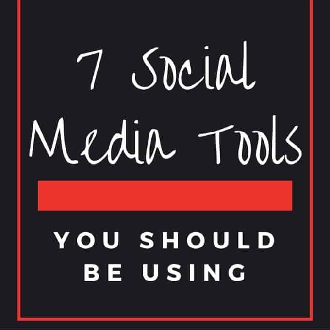 7 Social Media Tools