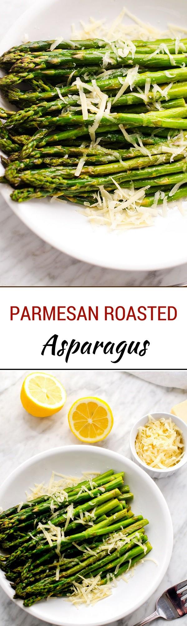 Parmesan Roasted Asparagus - WendyPolisi.com