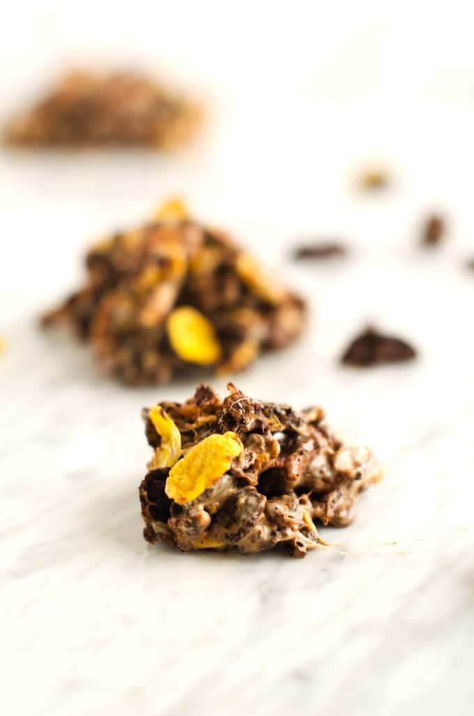 Chocolate-Cereal-Clusters