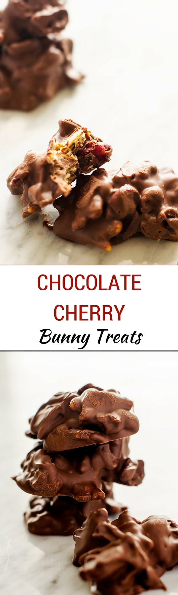 Chocolate Cherry Bunny Treats