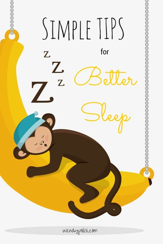 Simple Tips for Better Sleep - Want to sleep better tonight? Try these Simple Sleep Tips for Better Nights Sleep. And make sure you get $2 off coupon for melatonin and enter my giveaway for a Sleep Care Kit. - WendyPolisi.com