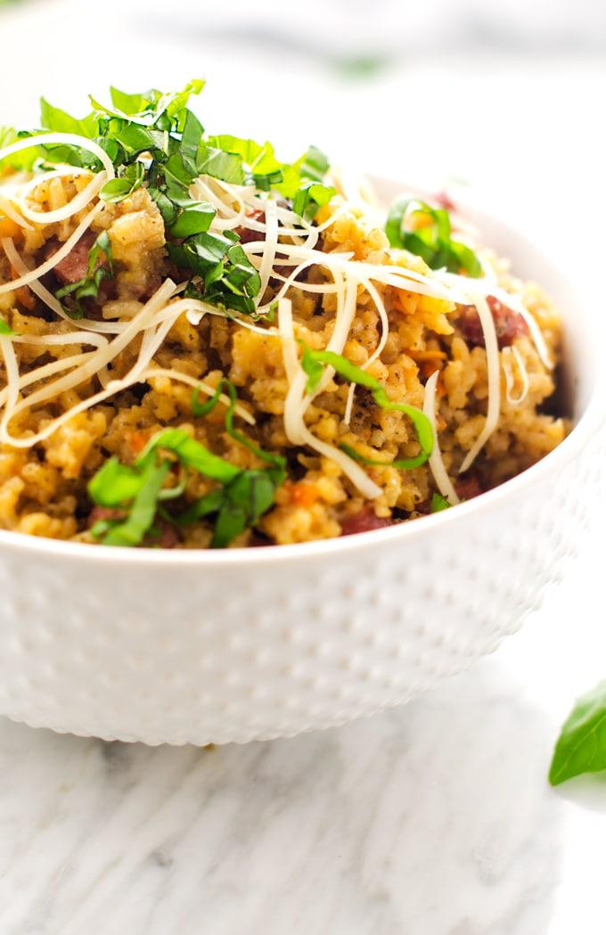 pesto-sausage-rice-skillet-2