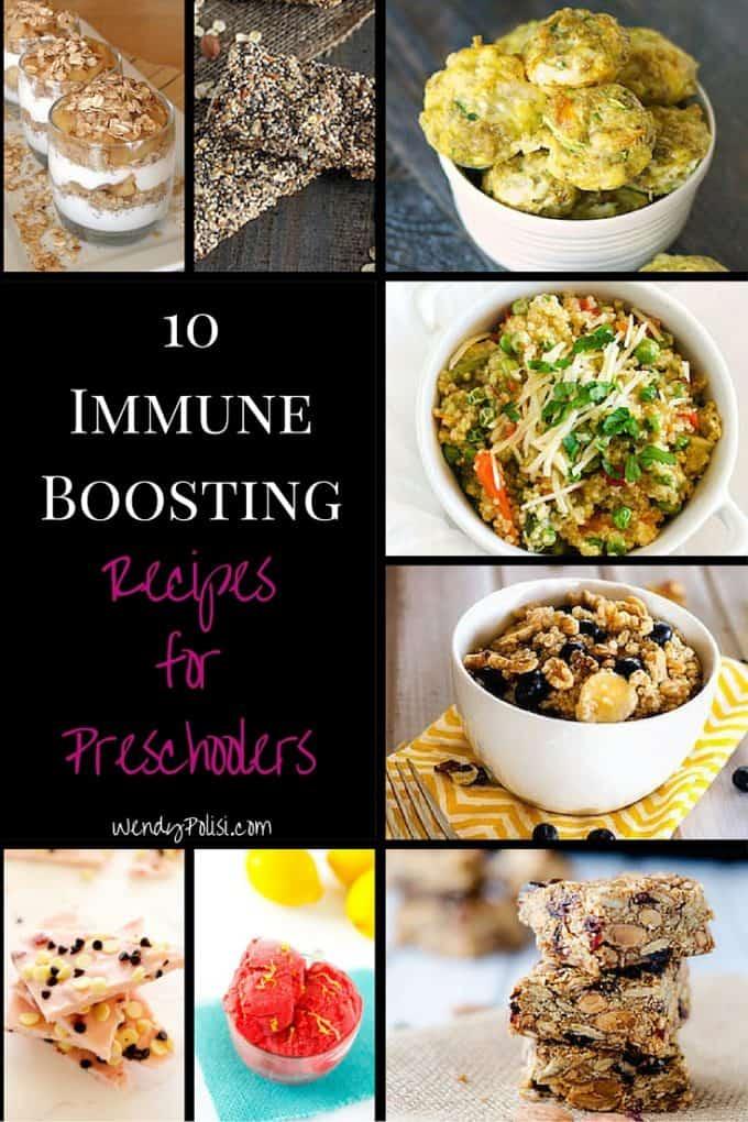 10 Immune Boosting Recipes for Preschoolers