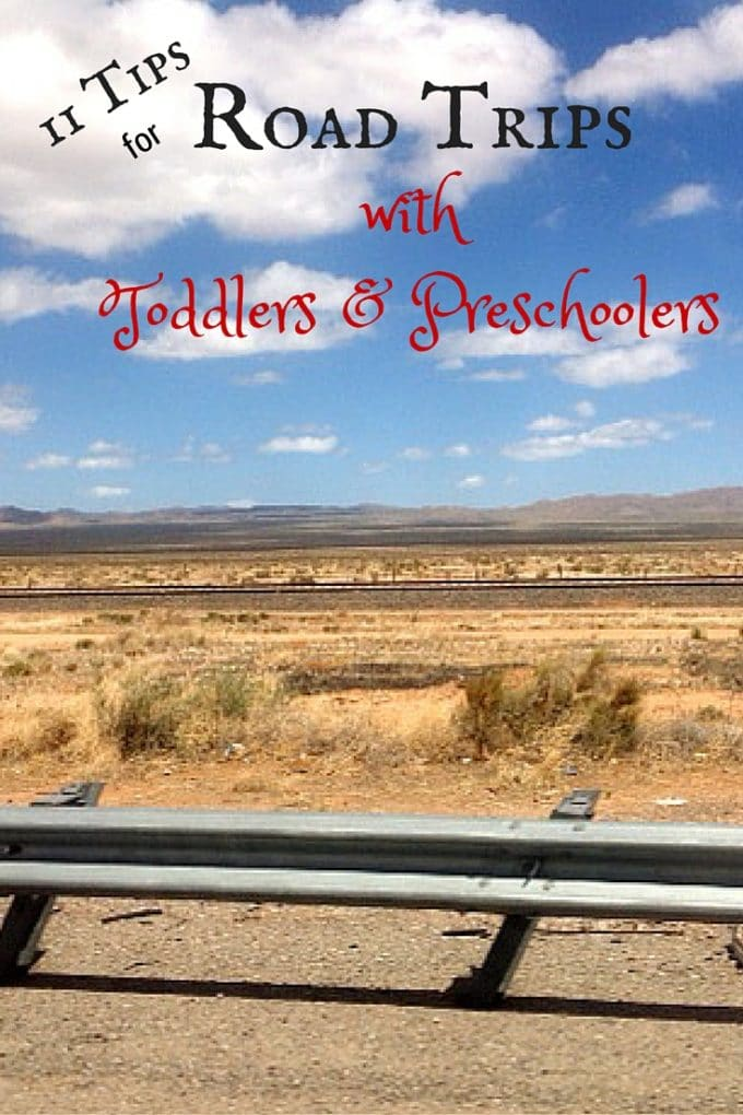 11 Tips for Road Trips with Toddlers & Preschoolers