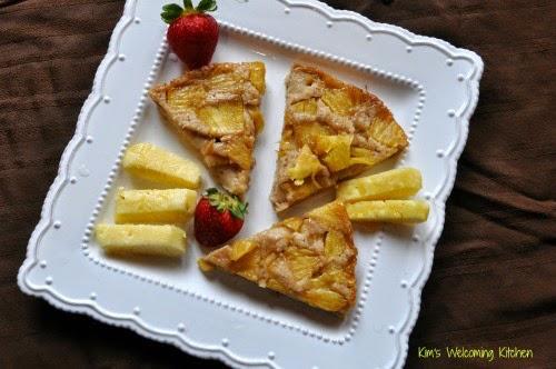 2 Pineapple Upside Cake, Vegan & Glutenfree