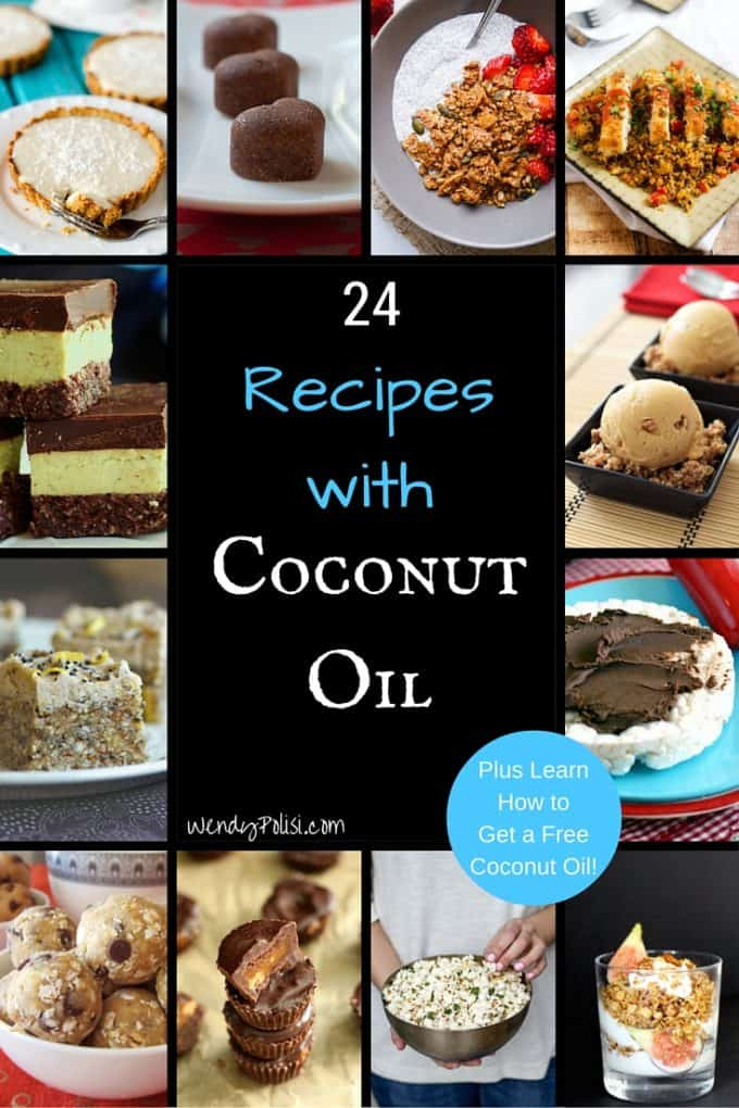 24 Recipes with Coconut Oil