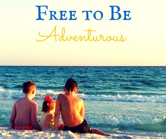 Parenthood has been nothing like I expected.  Still, I love it and all of it's messiness!    Letting the Kids Be Free to Be Adventurous #allclearfree #ad