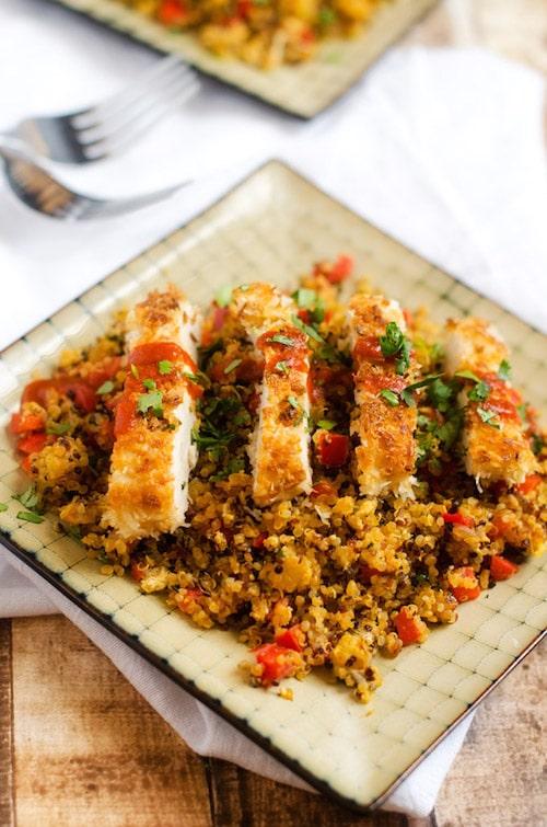 coconut-chicken-pineapple-fried-quinoa-3