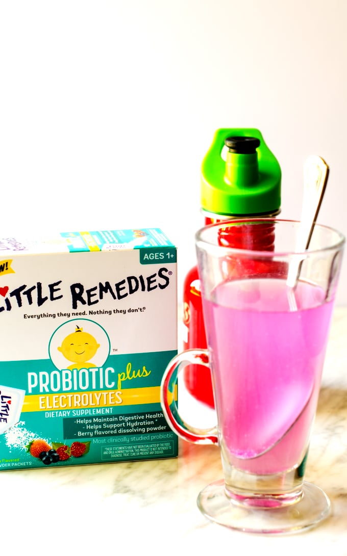 Little Remedies is easy to mix up before putting in a child safe cup!