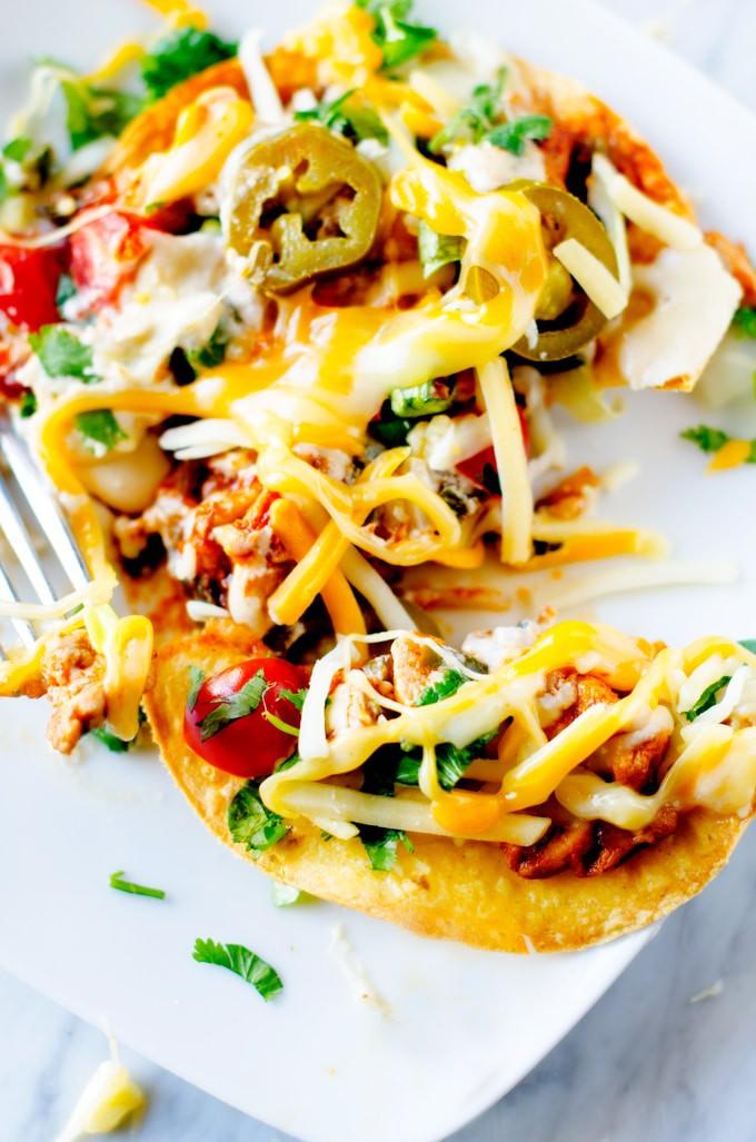 Cheesy-Chicken-&-Poblano-Pepper-Tostadas-2