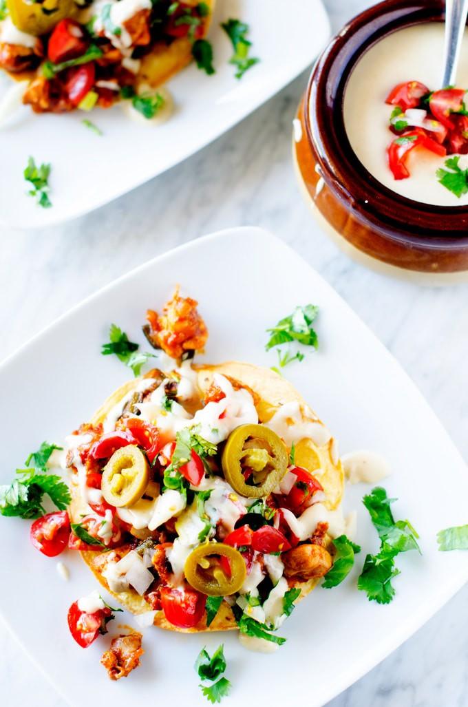 Cheesy-Chicken-&-Poblano-Pepper-Tostadas-4