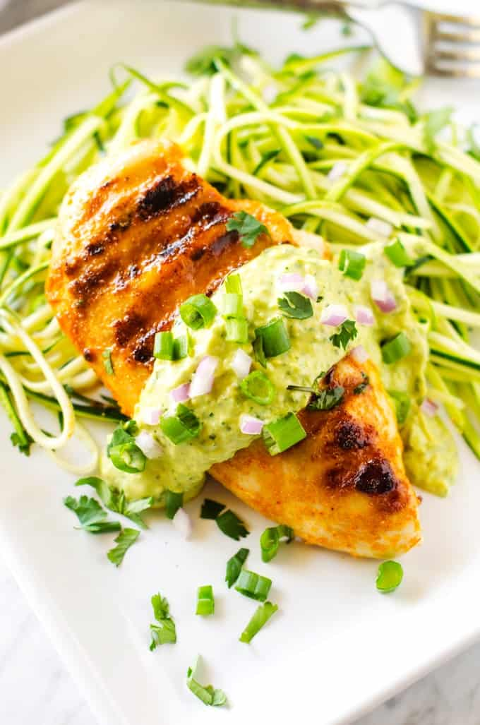 Smokey-Chicken-with-Avocado-Sauce