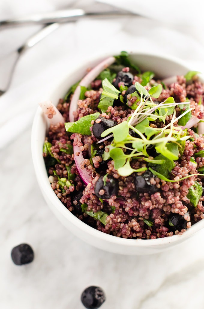 Superberry Quinoa Salad