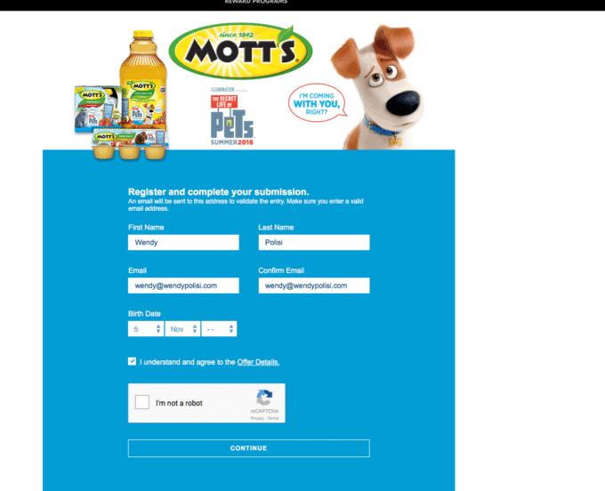 Motts Movie Ticket Offer 2016-07-07 17-10-22