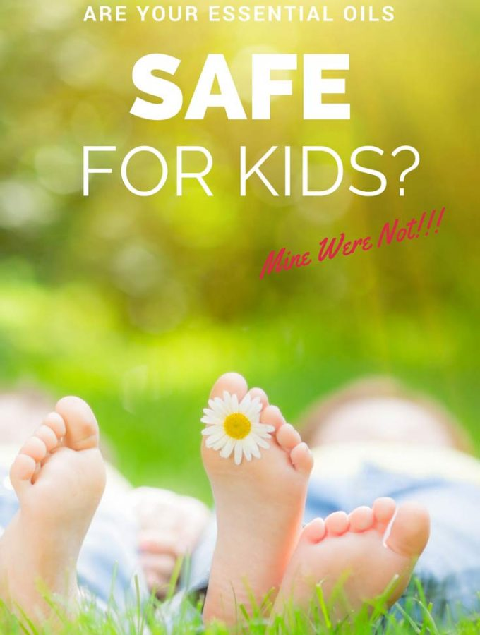 Are Your Essential Oils Safe for Kids?