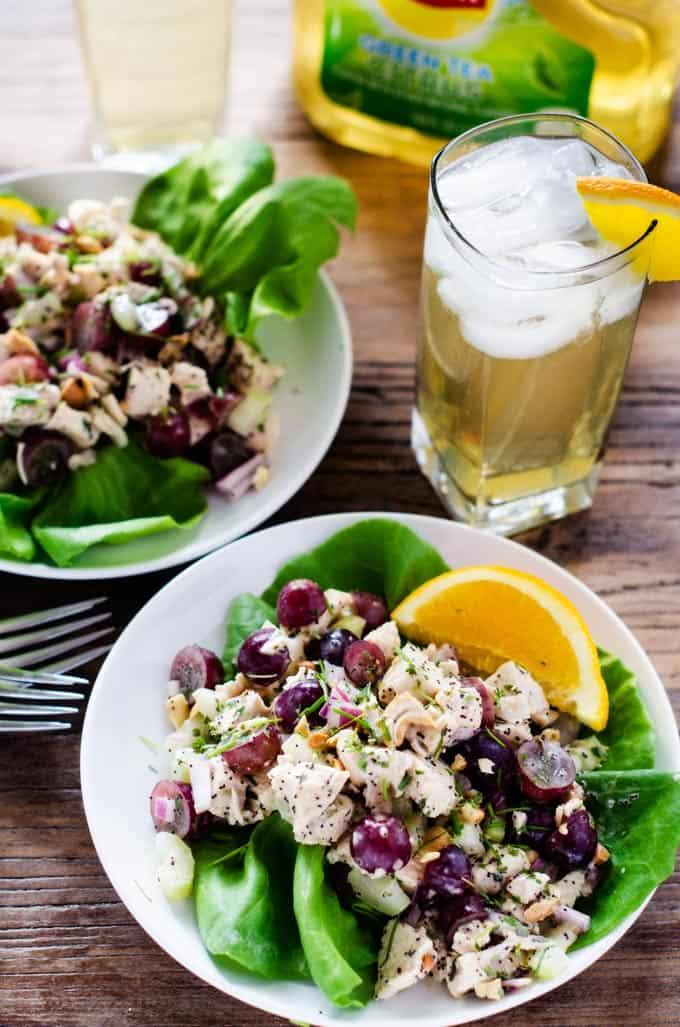 Orange Poppyseed Chicken Salad