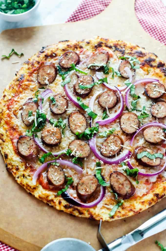 Roasted-Garlic-Chicken-Sausage,-Manchego-&-Red-Onion-Pizza-2
