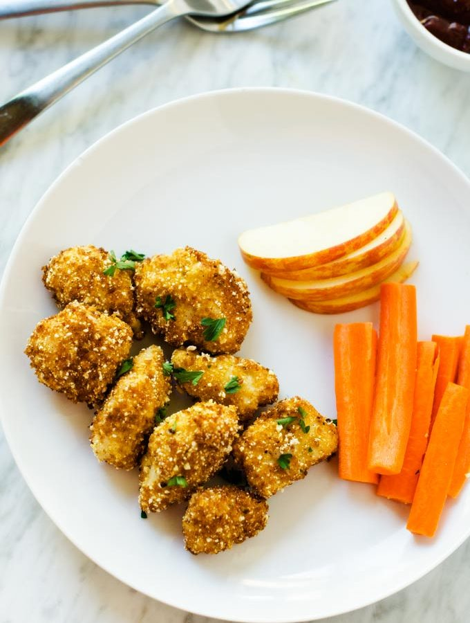 Popcorn Crusted Chicken
