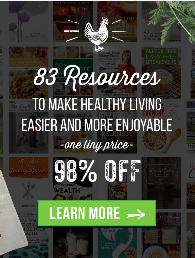 83 Resources To Make Healthy Living Easier – For Less Than $30!!!
