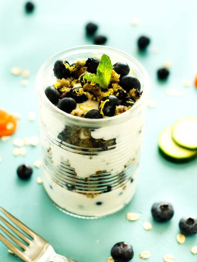 Blueberry Lemon Parfaits