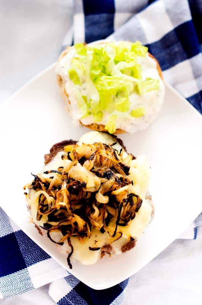 cheeseburgers-with-sauteed-onions-and-horseradish-mayo-2