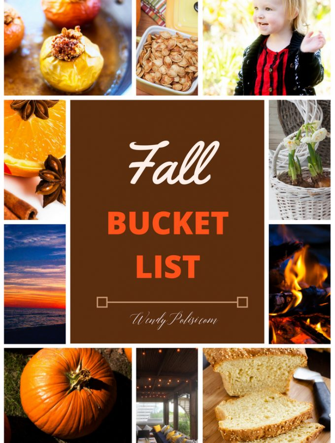 Fall Bucket List:  11 Things I'm Doing with the Family!